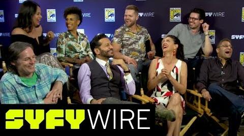The Expanse Cast Describes Season 3 in One-Word San Diego Comic-Con 2017 SYFY WIRE