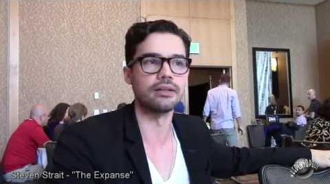 "SDCC 2015 The Expanse Steven Strait ""JIm Holden"""