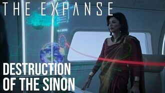 The Expanse - Destruction of The Sinon