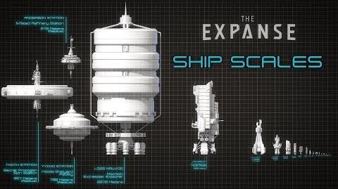 How Big Are The Ships of The Expanse?