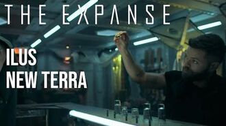 The Expanse - 1st Night on New Terra Ilus, Finding the Bar & 'Company'