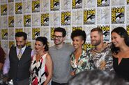 The Expanse cast at SDCC2017 from sknr.net