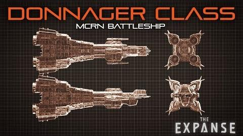 The Expanse Donnager Class Battleship - Official Breakdown