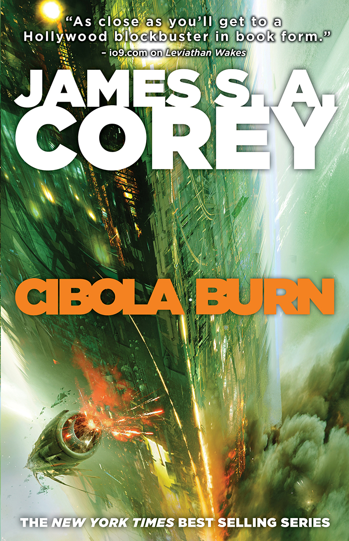 Cibola brennt Corey James S A