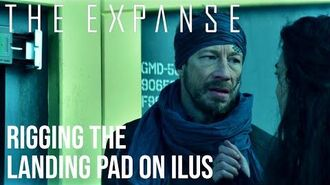 """The Expanse - """"Hahaa! Big Surprise for Landing Eh?!"""""""
