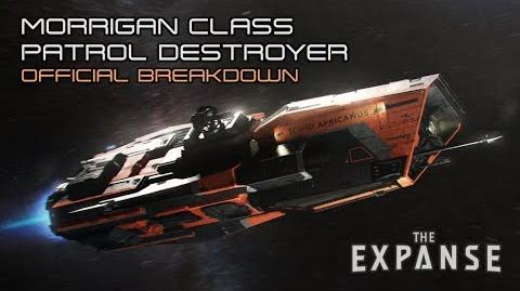 The Expanse Morrigan Class Patrol Destroyer - Official Breakdown