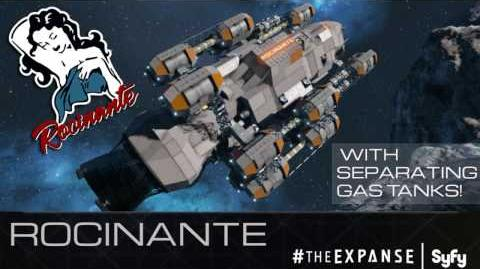 The Expanse Rocinante (Beratnas Gas) Space Engineers