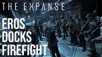 The Expanse - Eros Docks Firefight HD