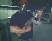 Soldier stunt guru