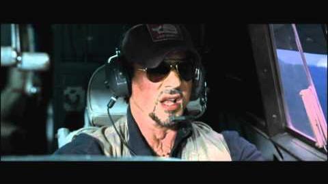 The Expendables - Cockpit Clip