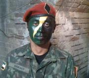 Samuel Le as a Garza soldier