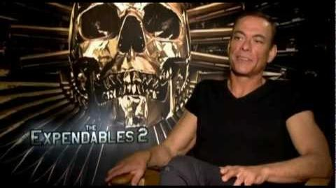 Van Damme - Good words about Steven Seagal Expendables 3 part 1