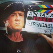 EX3- Sly on set