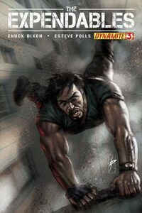The Expendables Issue 3 cover