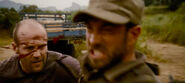 Expendables Patrick King killed by Statham