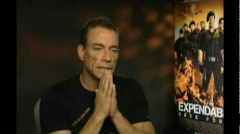 Van Damme - Good words about Steven Seagal Expendables 3 part 2