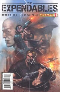 The Expendables Issue 1 cover