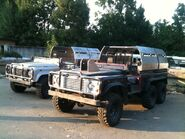 Land Rover Defender 110 6X6