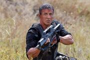 EX3- Stallone as Barney Ross ready for action
