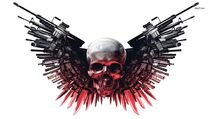 Skulls guns weapons expendables HD Wallpaper of General