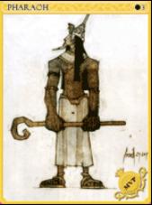 Pharaoh Card