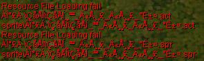Resource File Loading Fail