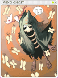 Wind Ghost Card