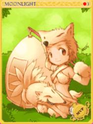 Moonlight Flower Card