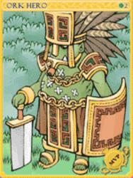Orc Hero Card