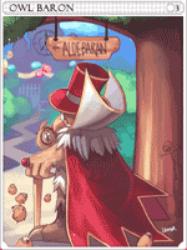 Owl Baron Card