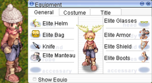 Equipment Tab