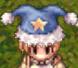 Twin Pom Blue Santa Hat
