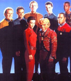 Initial DS9 Cast