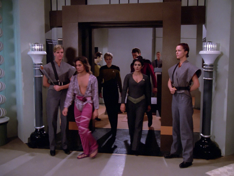 Mens TNG Season 7 Episode 14 Tank Top Star Trek