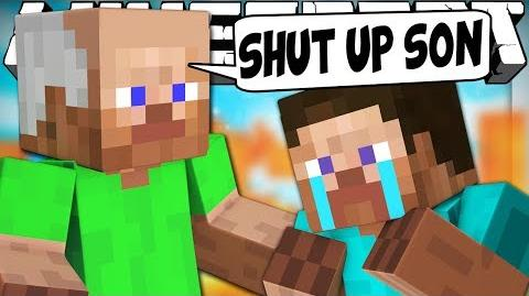 If Dads Took Over Minecraft