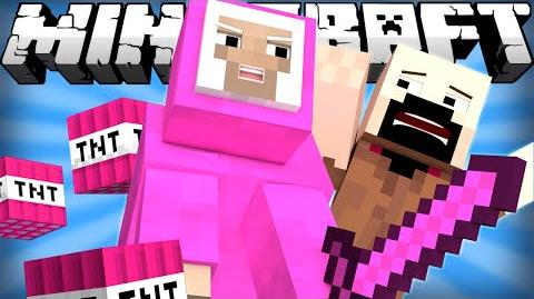 If the Pink Sheep Took Over Minecraft