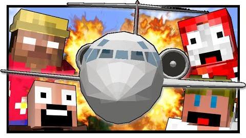 Lost Island - PLANE CRASH! (Minecraft Machinima) -1