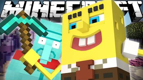 If Spongebob played Minecraft