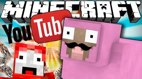 If Pink Sheep Had a YouTube Channel - Minecraft