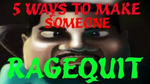 5 Ways to Make Someone Rage Quit - Minecraft