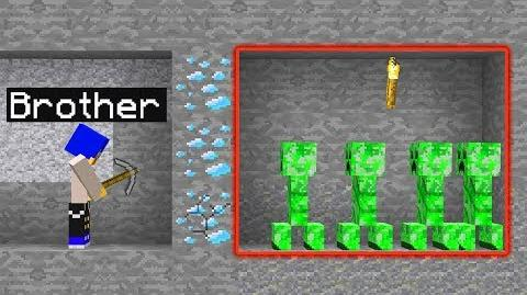 5 WAYS TO PRANK YOUR BROTHER IN MINECRAFT