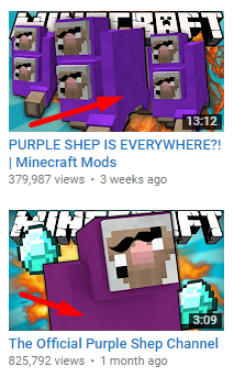 PurpleShepsDifferentWool