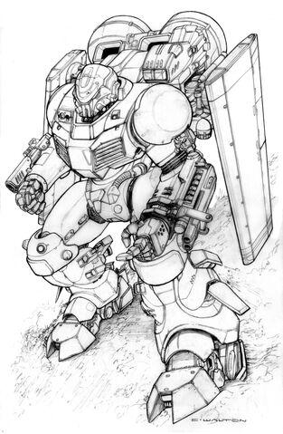 File:Power armor wip by chuckwalton-d5dicg6.jpg
