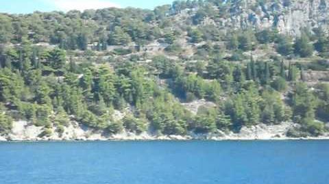 Chorwacja 2016 Wyspa