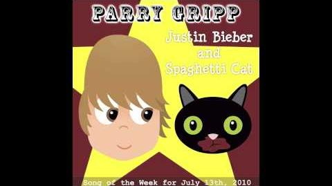 Justin Bieber And Spaghetti Cat - Parry Gripp