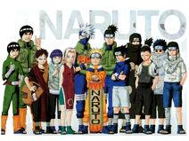 Narutoallthecharathers