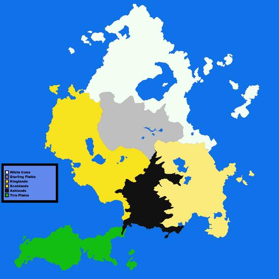 Exsterno Regional Map Small