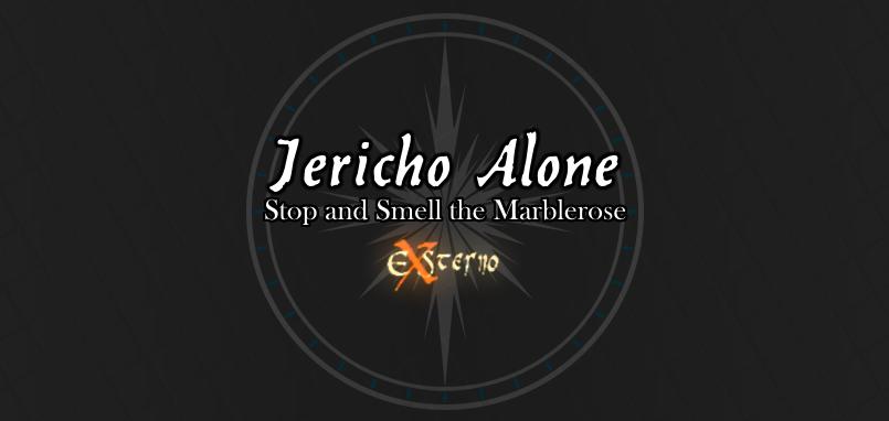 Jericho Alone - Marblerose