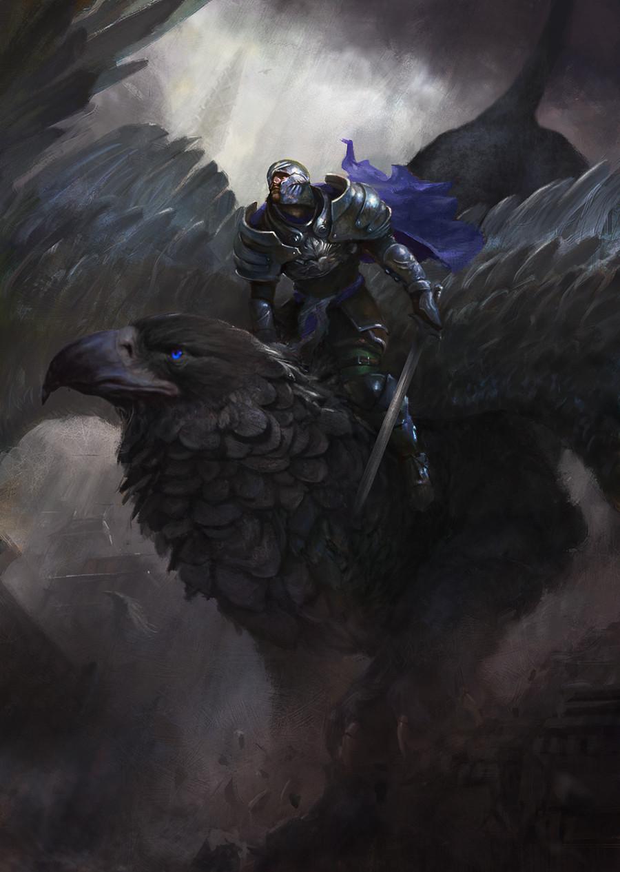 Sildar Griffin Rider