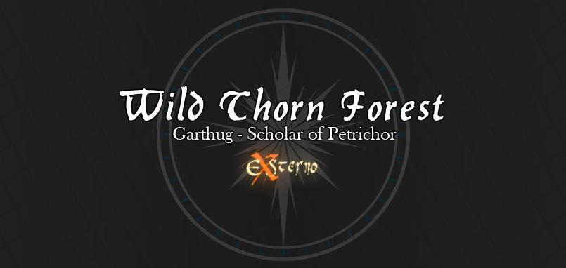 Wild Thorn Forest GSOP